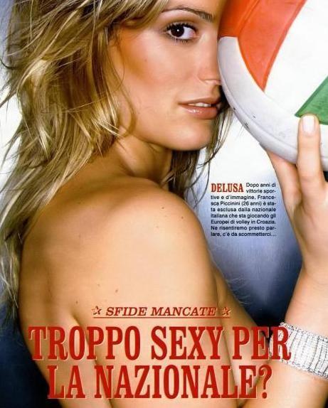 Francesca Piccinini Calendario.Omaggio A Francesca Piccinini Gossip Sport